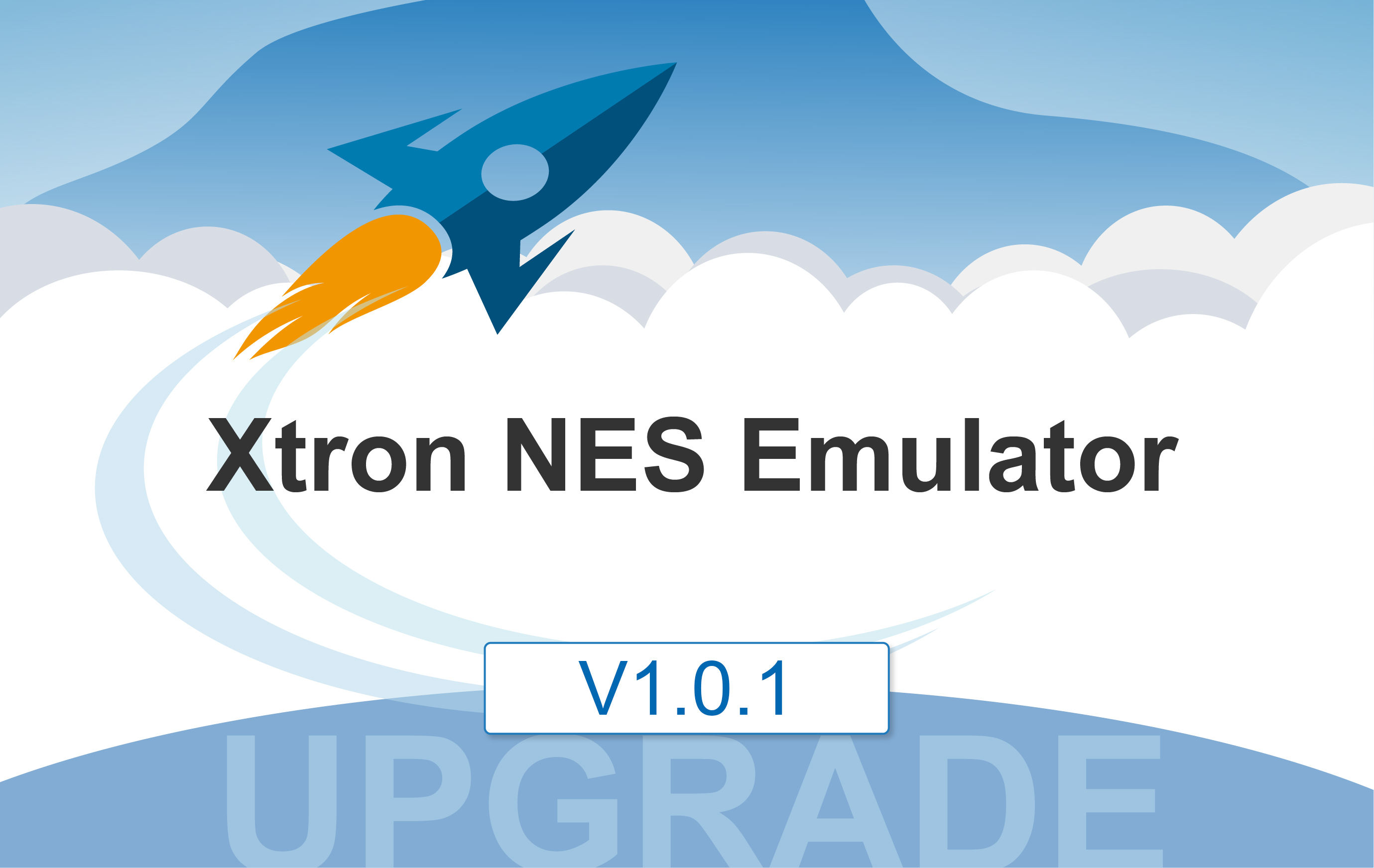 Xtron NES Emulator v1.0.1 has released